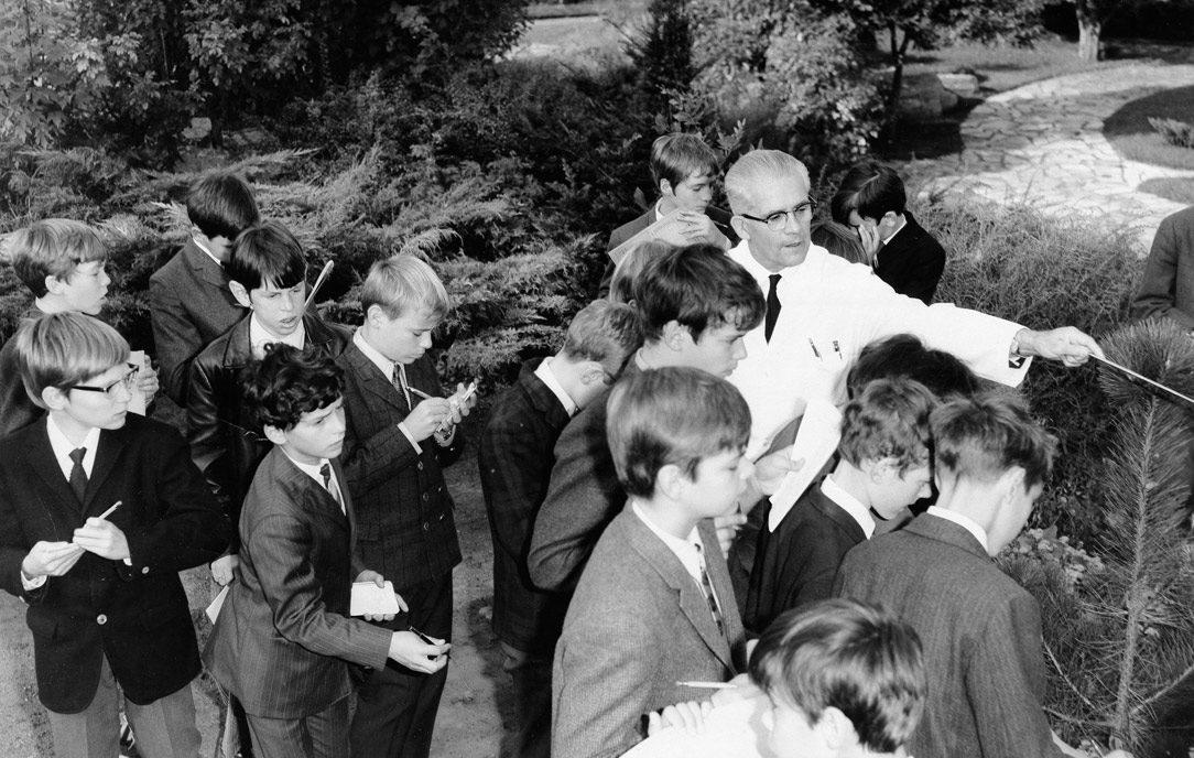 Rentrée scolaire 1969